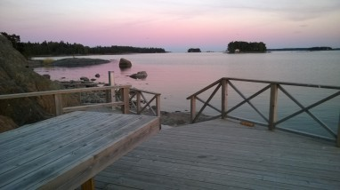 Ison Vasikkasaaren laiturialuetta. Kuva: Vesa Gran / Visit Espoo