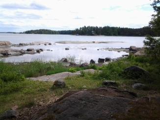 Ison Vasikkasaaren etelärantaa. Kuva: Vesa Gran / Visit Espoo
