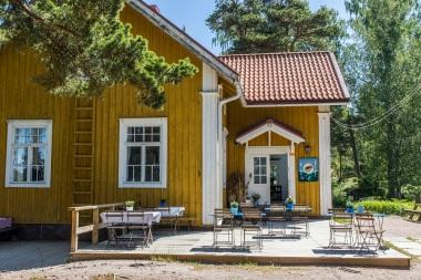 Treffit Gula Villanin saaristoravintolassa? Kuva: Joonas Vinnari / Visit Espoo