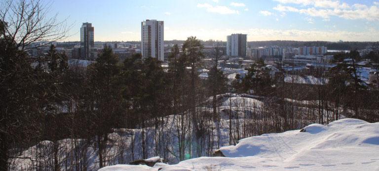 Espoon näköalapaikkoja, osa 2: LeppävaaranLaturinkallio