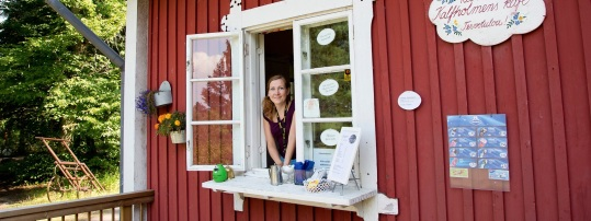 Vasikkasaaren kahvio. KUVA: Espoon kaupunki/ Olli Häkämies