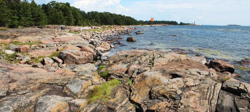 Espoon ulkoilusaaret joihin pääsee saaristoveneellä 1/4:Gåsgrund